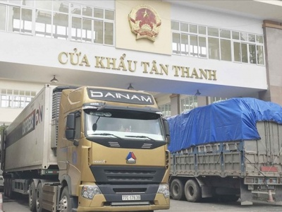 Important Announcement for Businesses Transporting Goods Through Tan Thanh Border Gate (Lang Son)